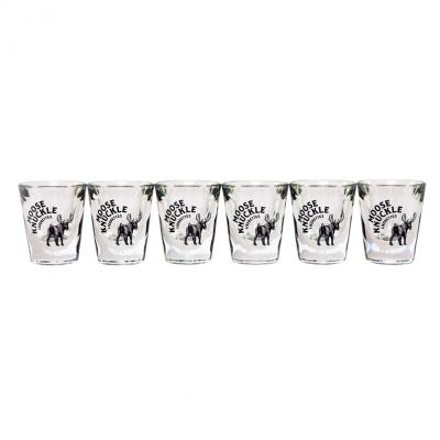 Moose Knuckle - Shot glas ( 6 stuks )