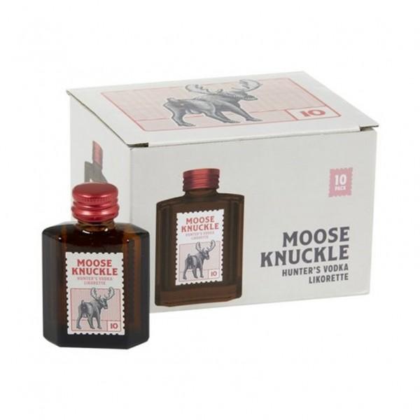 Moose Knuckle - Hunters Vodka likorette 10° ( 10 stuks )